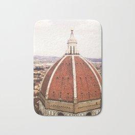 Duomo - Hazy, Florence Photography Bath Mat