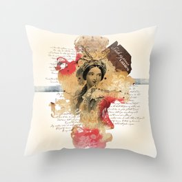 Shakespeare Ladies #1 Throw Pillow