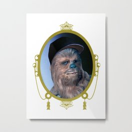 Chewie - The Wookiee Metal Print