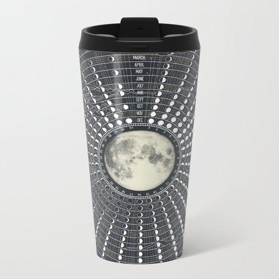 Phases // Moon Calendar 2017 Metal Travel Mug