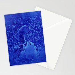 Oie dans les jardins de carrouges by GEN Z Stationery Cards