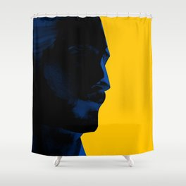 L'homme - electric Shower Curtain