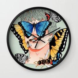 Butterfly Boy Wall Clock