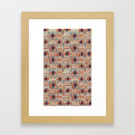 Body in Abstraction 3 Framed Art Print
