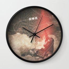 Unicorn Crystallization Wall Clock
