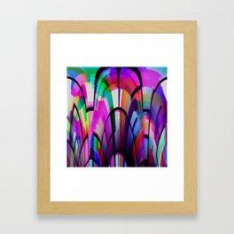 Color Gates Framed Art Print
