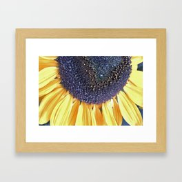 Half Sun Framed Art Print