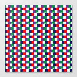 70's Squares Canvas Print