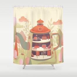 Dream Home Shower Curtain