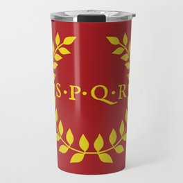 SPQR logo Travel Mug
