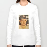 larry Long Sleeve T-shirts featuring Larry Jackson by Meg Rust. Mly Designs