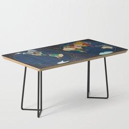 Stone Globe Coffee Table