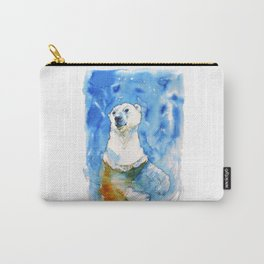 Polar Bear Inside Water Carry-All Pouch