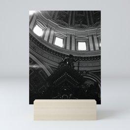 Sunbeams Saint Peters Basilica Vatican City Photo by Larry Simpson Mini Art Print