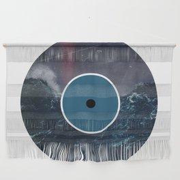 Vinyl Record Art & Design | Stormy Ocean Wall Hanging