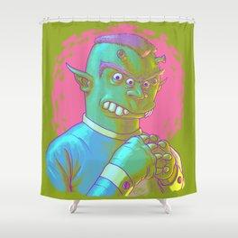 Go On... Shower Curtain
