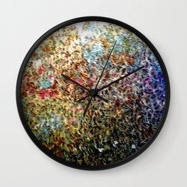 Amongst the Flowers  Wall Clock