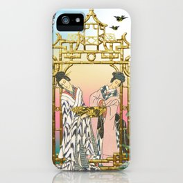 Geishas at the Gate iPhone Case
