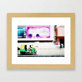 Motoring Framed Art Print