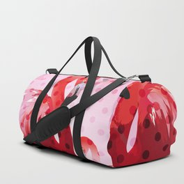 Watercolor Flamingo Pattern Duffle Bag