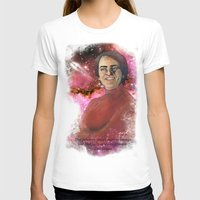 carl sagan T-shirts featuring Carl Sagan  by Madison Gremillion