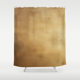 Modern elegant abstract faux gold gradient Shower Curtain