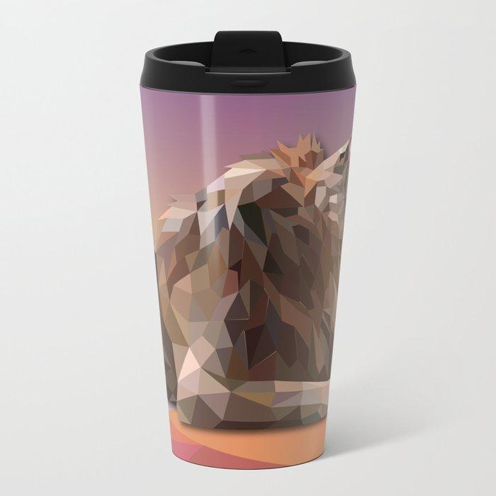 Lion King Metal Travel Mug