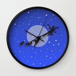 Peter Pan Magical Night Wall Clock