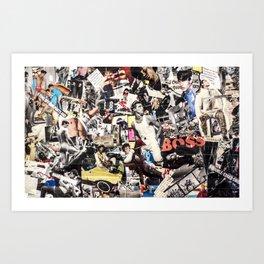 Les Gars New Yorkias  Art Print
