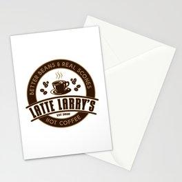 Latte Larry's Stationery Cards