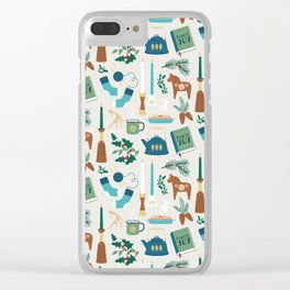 A Very Hygge Holiday Clear iPhone Case