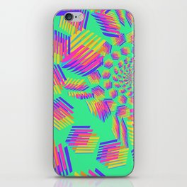 Spring breakers - geometric color iPhone Skin