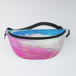Colorful Oil Painting Fanny Pack