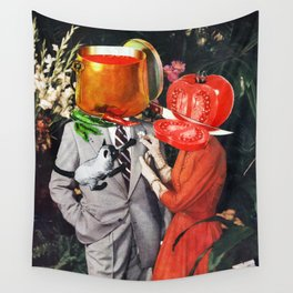 Hot Couple Wall Tapestry