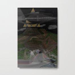 Cheyenne Mountain - Variant Metal Print