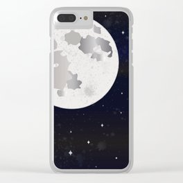 GIVE ME SOME SPACE Clear iPhone Case