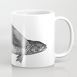 Vintage Flying Fish Coffee Mug
