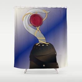 True Love seal Shower Curtain
