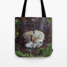 Sleeping Fox Tote Bag