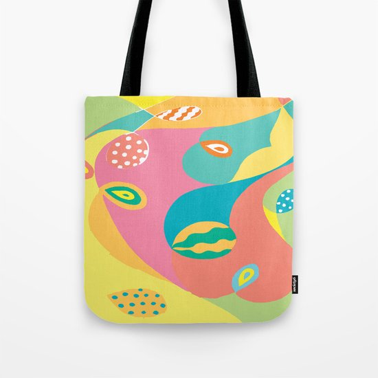 Twists & Turns Tote Bag