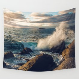 Perfect Wavebreak Wall Tapestry