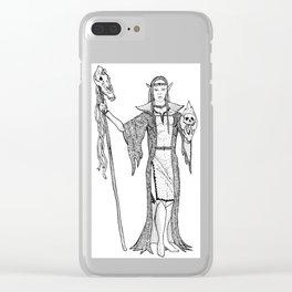Necromantrix Clear iPhone Case