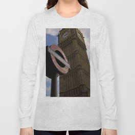 London Underground at BigBen Long Sleeve T-shirt