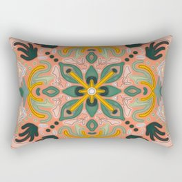 Savory Succulent Rectangular Pillow
