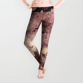 Grunge wall texture 5 Leggings