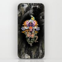 animal skull iPhone & iPod Skins featuring ANIMAL SKULL by sametsevincer
