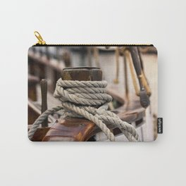 #big #linen #rope from the #old #wood #ship Carry-All Pouch