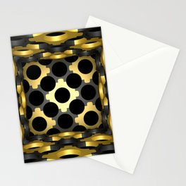 Stylish ornamented cup with an openwork structural mesh. Stationery Cards