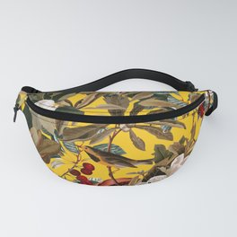 Floral and Birds XXVII-I Fanny Pack