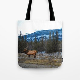 Jasper Local- Aka Mr. Male Elk/Wapiti Tote Bag